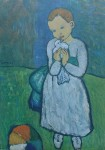Child With Dove by Pablo Picasso - collectable collotype fine art print