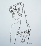 Jacqueline by Pablo Picasso - silkscreen reproduction fine art print