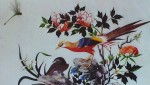 Birds by unknown artist, Arte Chino - silk printed fine art print