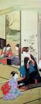 Four Accomplishments 2 by Utagawa Toyohiro - offset lithograph fine art print