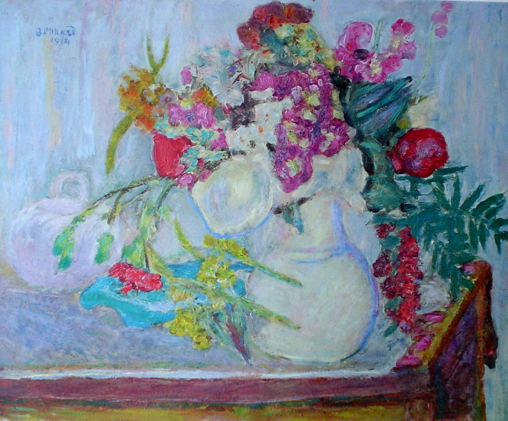 The Mauve Bouquet by Pierre Bonnard - collectible collotype fine art print