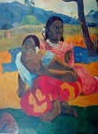 When Do You Marry by Paul Gauguin - offset lithograph fine art print