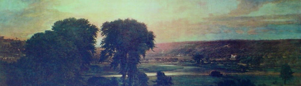 Peace And Plenty by George Innes - collectible collotype fine art print