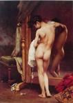 A Venetian Bather by Paul Peel - offset lithograph fine art print