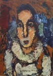 The Clown by Georges Rouault - offset lithograph fine art print