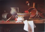 Chardin Inspiration by Susan Murray Stokes - offset lithograph fine art print