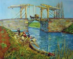 The Bridge by Vincent Van Gogh - offset lithograph fine art print