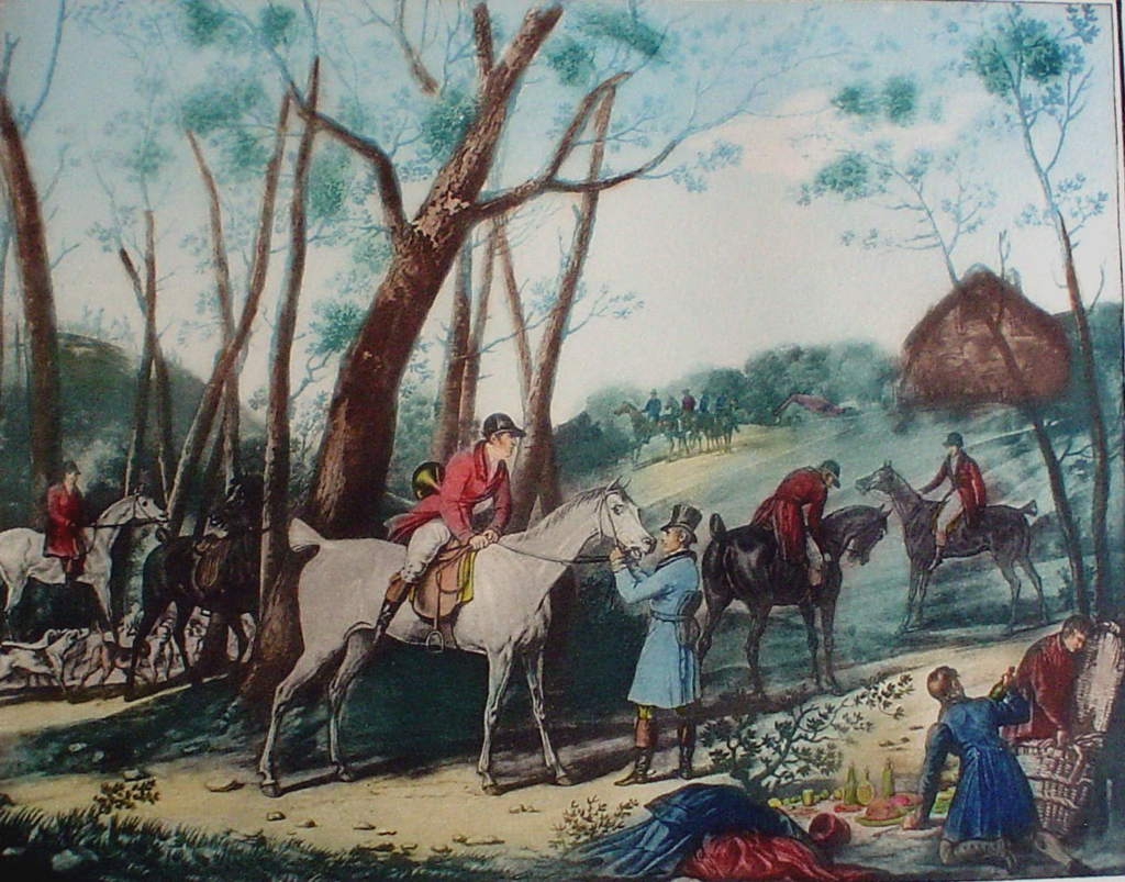 Vernet fox hunting le rendez vous kerrisdale gallery for Carpe vente