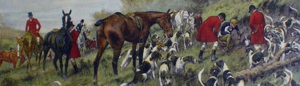 His Same Old Game by George Wright - restrike etching, hand-coloured original print