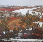 Redhill by Ivan Kenneth Eyre - offset lithograph reproduction vintage fine art print