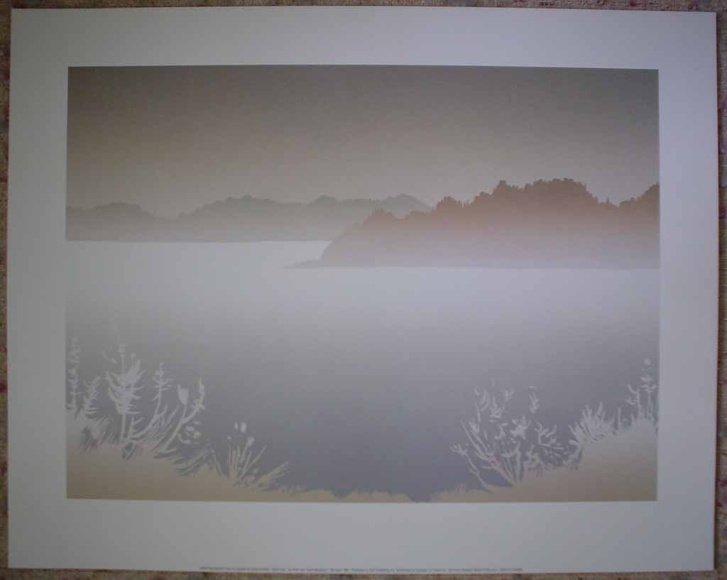 Early Frost by Peter and Traudl Markgraf, shown with full margins - offset lithograph vintage fine art print reproduction
