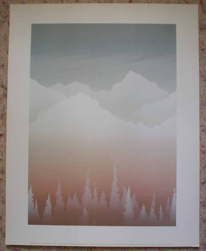 Midwinter by Peter and Traudl Markgraf, shown with full margins - offset lithograph vintage fine art print reproduction