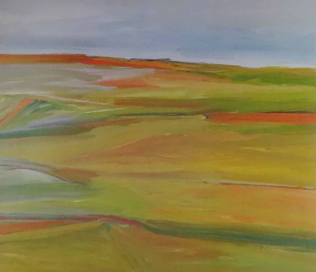 Bay Of Fundy by Gordon Appelbe Smith, Mira Godard Gallery 1979 - offset lithograph limited edition vintage fine art poster print