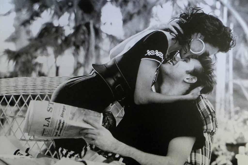 Mexico 1990 by Pamela Hanson - offset lithograph reproduction vintage poster art print