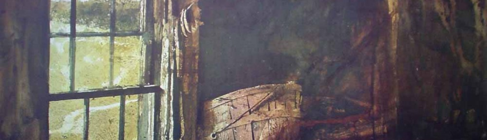 Split Ash Basket by Andrew Wyeth - collectible collotype reproduction vintage fine art print