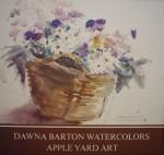 Apple Yard Art by Dawna Barton