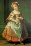 Countess Stanhope Holding a Dog by Pompeo Batoni