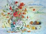Poppies And Fruit by Elizabeth Jane Lloyd