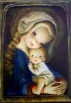 The Flower Virgin by Juan Ferrandiz