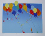 Carnival Collision by Linda Hill - original silkscreen, signed and numbered 144/ 150