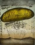 Adler Rad Frankfurt 1899 by Udo Nolte - original etching, signed and numbered 7/ 200
