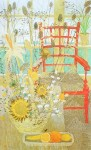 The Red Chair by Lydia Kemeny - offset lithograph fine art print