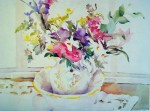 Emma's Bowl by Janet Walsh - offset lithograph fine art print