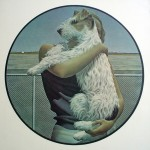 Woman And Terrier by Alex Colville - offset lithograph fine art print