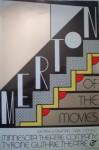 Merton of the Movies by Roy Lichtenstein - Original Poster 1968, 4-colour screenprint on silver foil