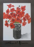Poppies by Arnold Iger, published by Choice Editions - offset lithograph vintage fine art poster print