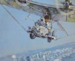High Flyer by Robert Genn - offset lithograph reproduction vintage poster art print