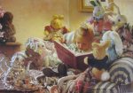 KerrisdaleGallery.com - stock ID#WM993ph-s - The Tales of Peter Rabbit by Mike Wimmer - hand-signed by the artist - 1996 offset lithograph of a 1993 painting, printed in U.S.A.