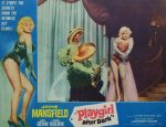 """KerrisdaleGallery.com - Stock ID#MPLCx1PLY62ph - """"Playgirl After Dark"""" (1962, Topaz, filmed in UK, poster for USA, NSS#62/279)- Original Vintage Movie Poster Lobby Card, single Number 3 - feature view - Neo-noir thriller starring Jayne Mansfield. Directed by Terence Young."""