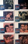 """KerrisdaleGallery.com - Stock ID#MPLCx8SUN59ph - """"A Place in the Sun"""" (1959 re-release, Paramount, USA, NSS#R59/60)- Original Vintage Movie Poster Lobby Cards, Set of 8 - feature view - Drama starring Elizabeth Taylor, Montgomery Clift, Shelley Winters. Directed by George Stevens."""