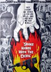 """KerrisdaleGallery.com - Stock ID#MPOSx1SHA59pv - """"Shake Hands With The Devil"""" (1959, UA, Filmed in Ireland, poster for USA, NSS#59/182)- Original Vintage Movie Poster One Sheet/folded 1-SH, 41 x 27 inches - feature view - Action drama starring James Cagney, Don Murray, Dana Winter, Glynis Johns. Directed by Michael Anderson."""